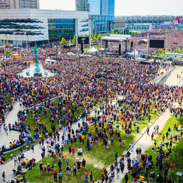 Cleveland Cavs Championship Rally
