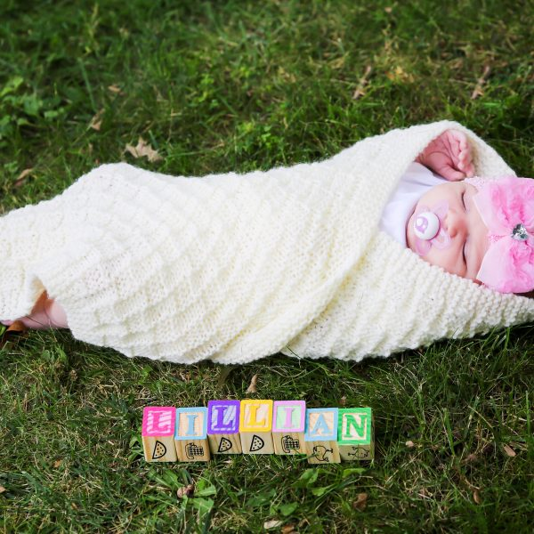 Lillian Newborn Session - Akron